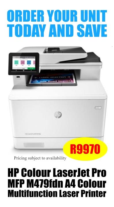 Hp Laserjet Pro M479 FDW Offer